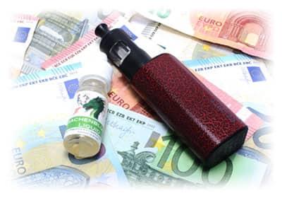 Kosten für E-Zigarette berechnen