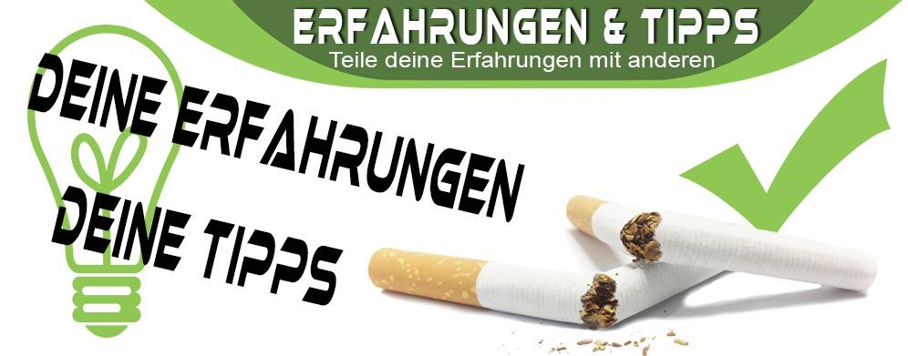 Rauchen aufhören, eure Erfahrungen? (Entzug)