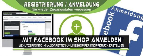 Facebook-Anmeldung