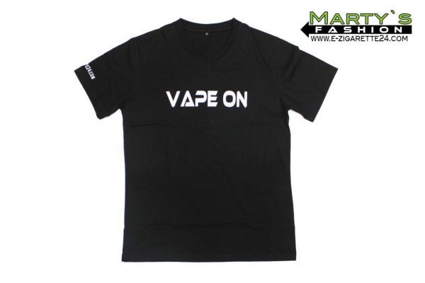 "Dampfer T-Shirt ""VAPE ON"""