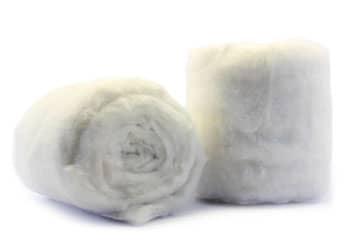 Baumwolle-Watte