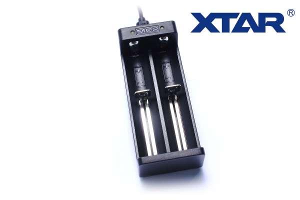 Xtar MC2 Akku Doppel-Ladegerät