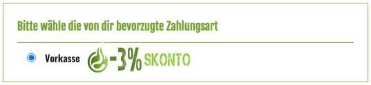 Zahlungsart-Vorkasse-Skonto-Rabatt