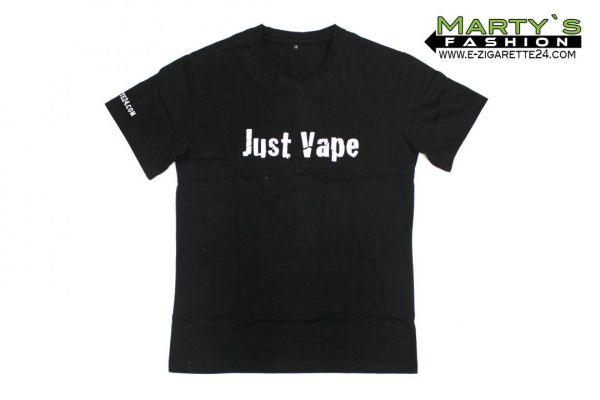 "Dampfer T-Shirt ""Just Vape"""