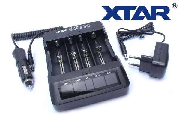 Xtar VP4 Premium Akku Ladegerät