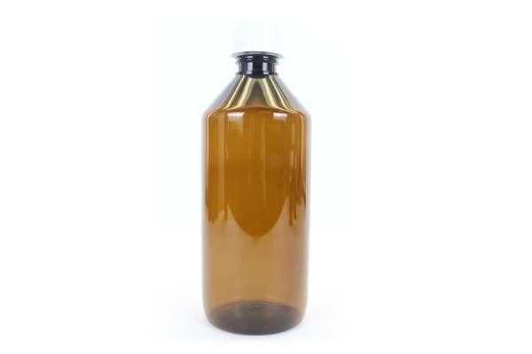 500ml Base PET-Laborflasche Braun